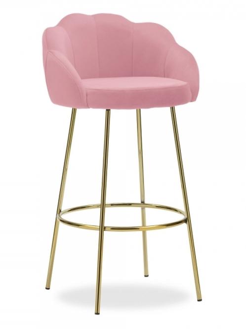 Scallop bar stool