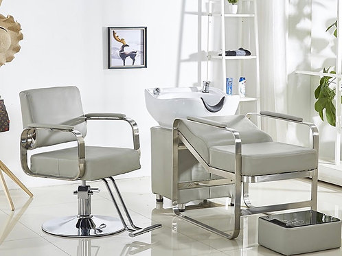 Laydown Hair Wash Station & Styling Chair Package