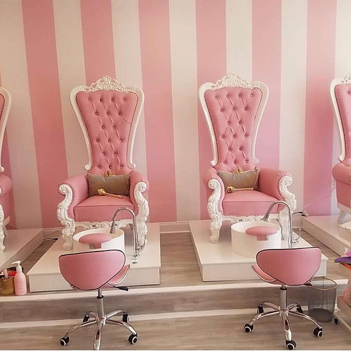 Throne Pedicure Station