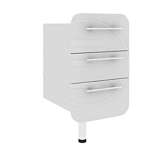 Capsule White Cabinet