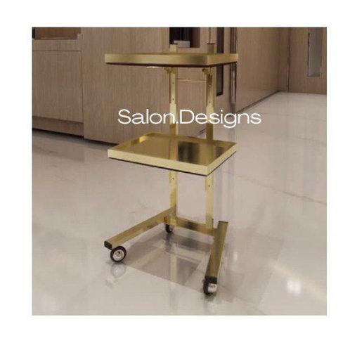 Gold Metal Trolley