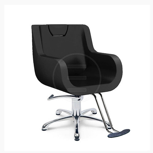 Lotus Makeup Recliner Chair with Headrest