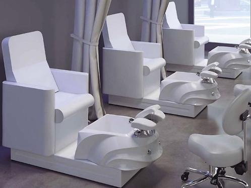 White Pedicure Chair