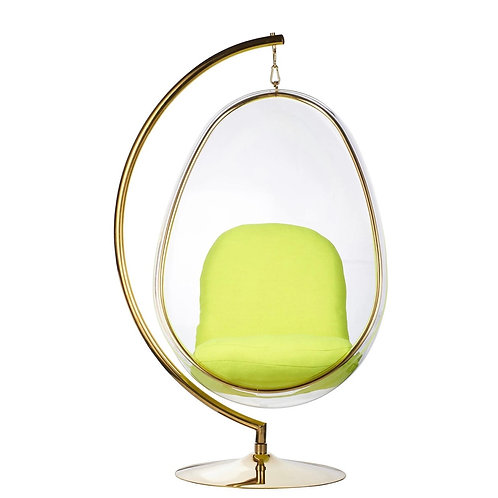 Egg Chair  (Gold Frame)
