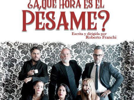 """¿A Qué Hora Es El Pésame?"", comedia de humor negro estrena en el Centro Cultural BOD"