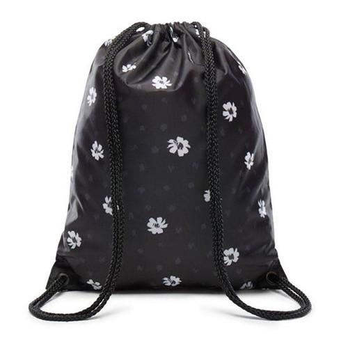 bf9442529500 Vans Benched Bag Virágos Fekete tornazsák