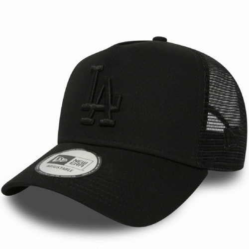 516891452976 New Era LA Dodgers League Essential Trucker