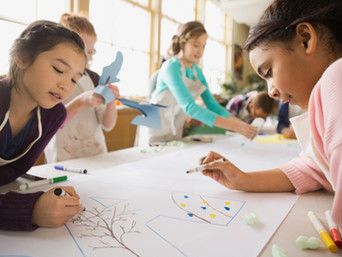 How sketching and colouring can help with child development