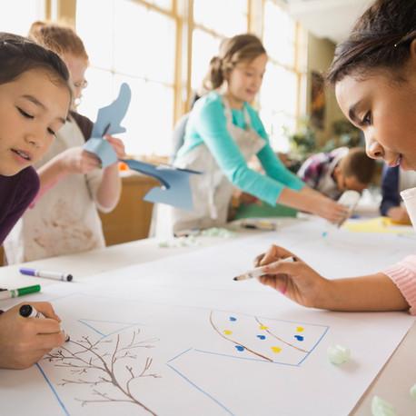 Desenhos infantis podem ser sinal de inteligência