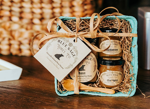 Three Piece Curated Treat Basket