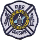 Plainfield, New Jersey Fire Division Badge
