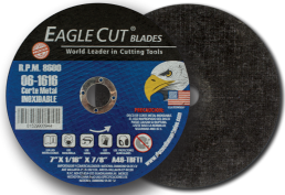 "Disco de corte para metal e inox 4 1/2"" EAGLE CUT"