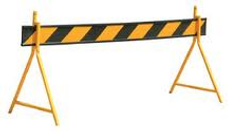 Black and Yellow Barrier Board
