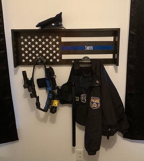 Thin Blue Line Duty Rack