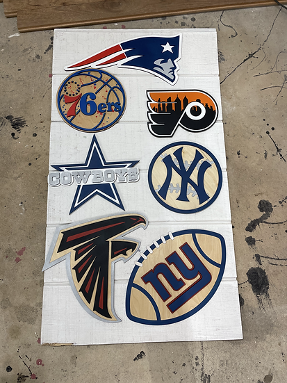 Sports Team Signs