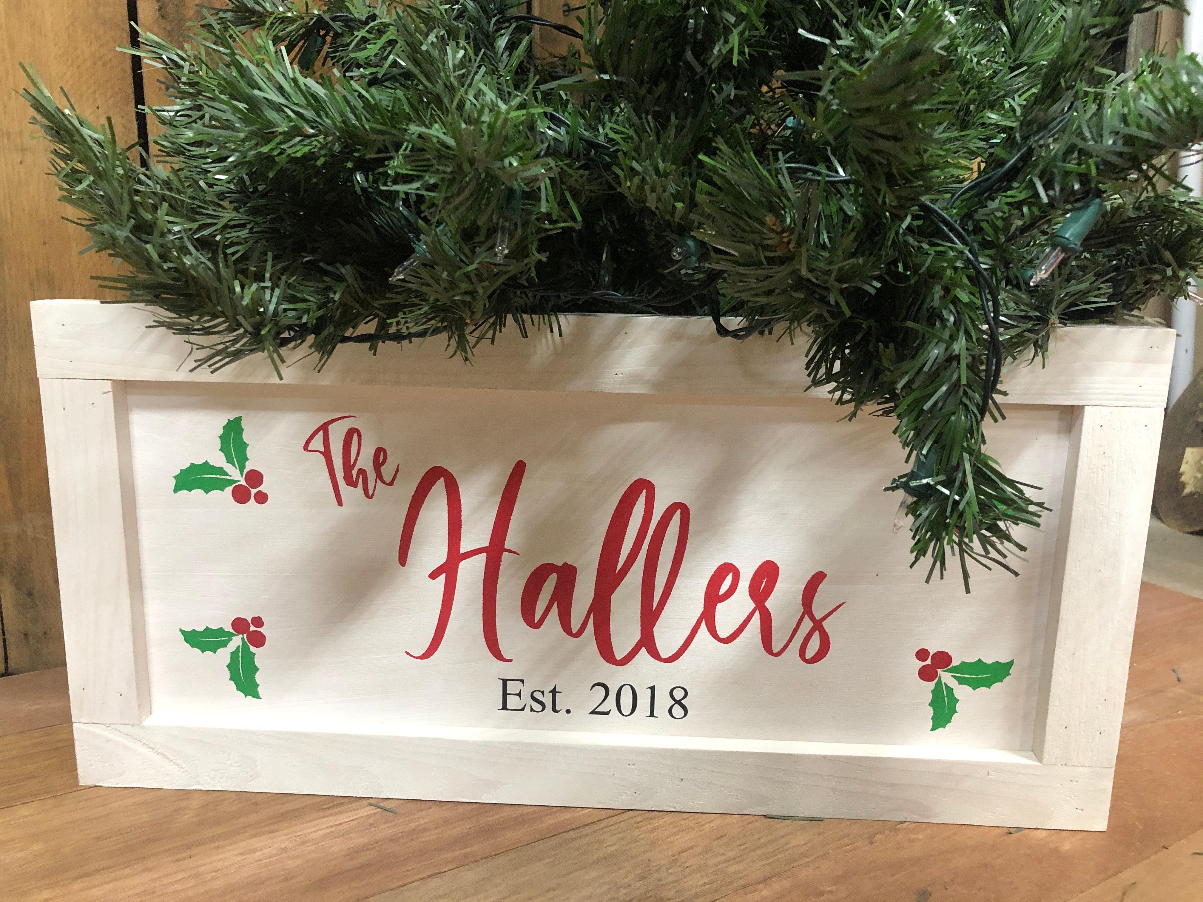 Christmas Tree Collar Ddt Home Goods