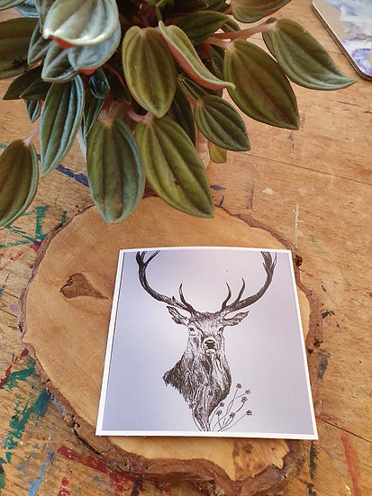 Majestic Stag Large Magnet