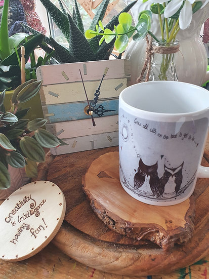 Grow Old Owls Mug