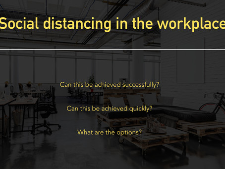 Social Distancing in the Workplace