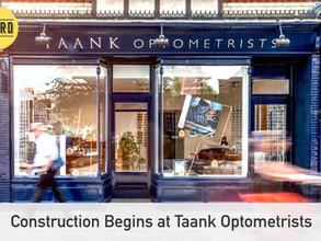 Construction begins at Taank Optometrists