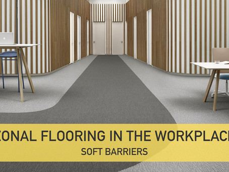 Zonal Flooring in the Workplace - Soft Barriers