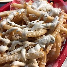 parmesan fries w truffle mayo