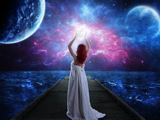 Merging With The Divine Feminine