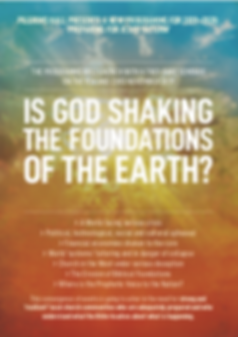 Is God Shaking the Foundations of the Ea
