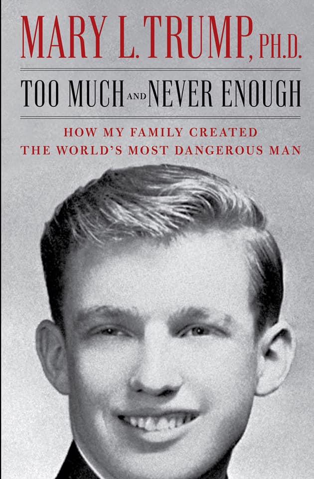 特朗普姪女Mary L Trump出版的著作
