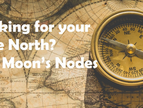 Looking for your true north? The Moon's nodes