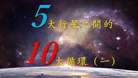 五大行星之間的十大循環(一)
