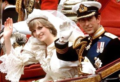 查理斯王子和戴安娜