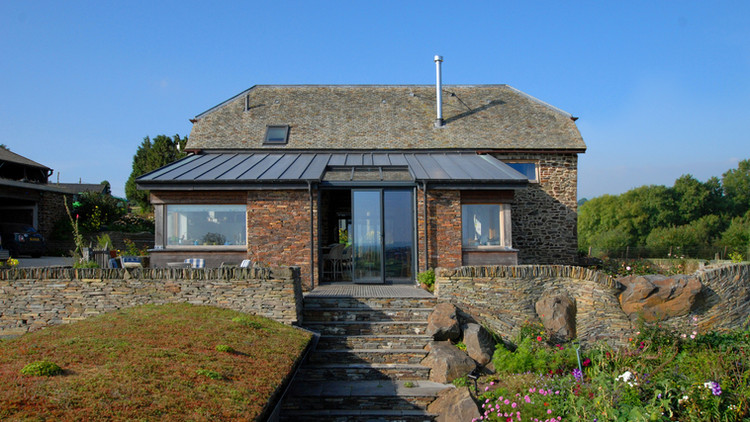 Barn conversion and extension located in Devon