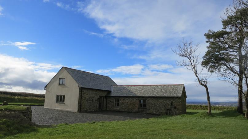 Barn conversion in Devon - exterior shot