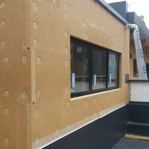 new eco house with passivhaus principles