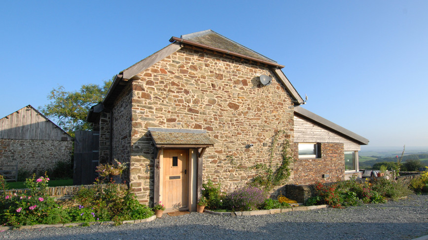Barn Conversion - Front elevation
