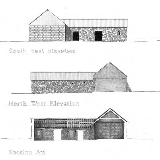 Measured survey architects drawings