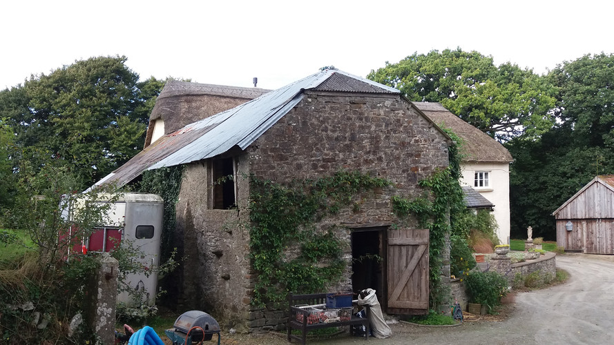 Barn conversion at Satterleigh, Devon