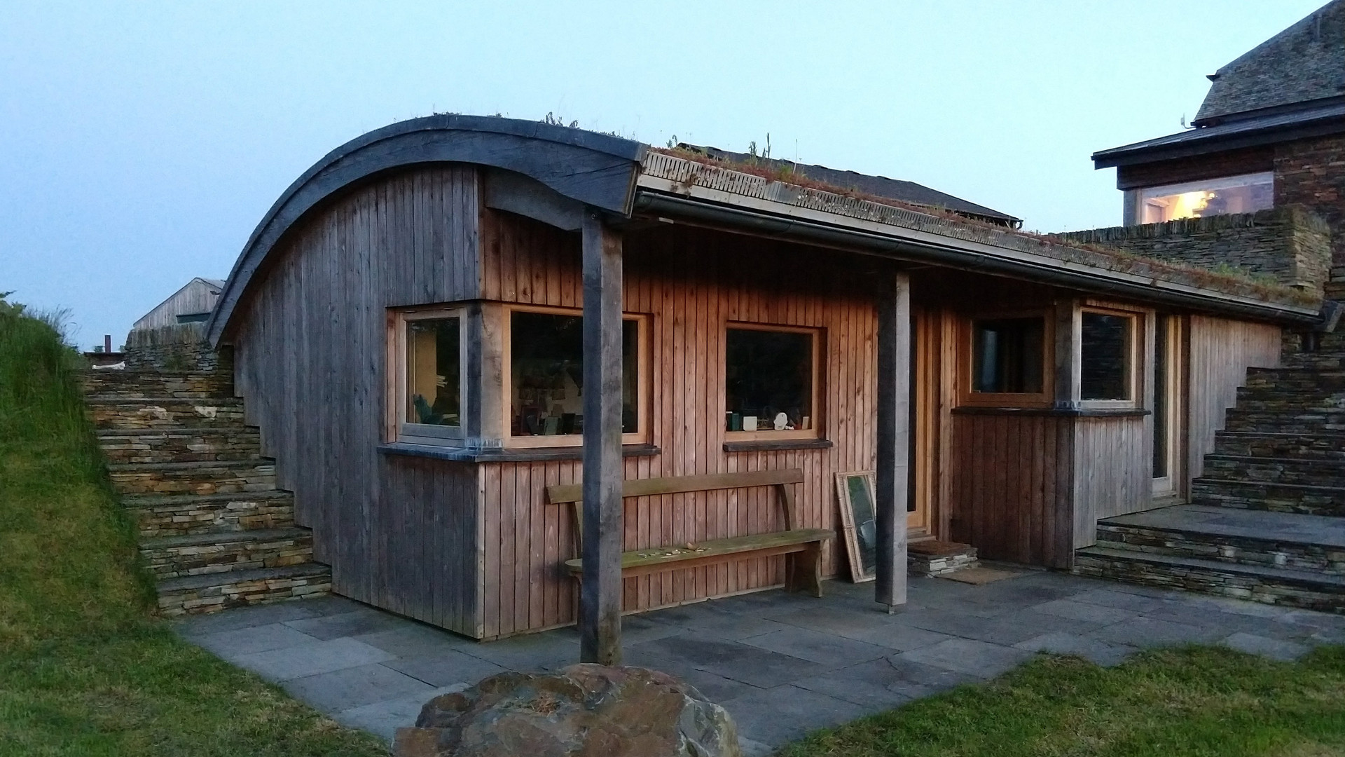 Photo of architectural design project - Timber clad garden room