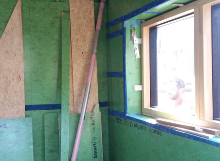 Design for energy efficiency: airtightness
