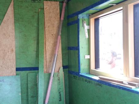 Design for energy efficiency: airtightness
