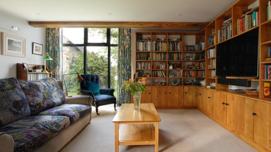 Barn Conversion - Interior view 01