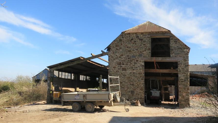 Barn conversion at Kings Nympton