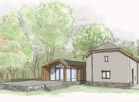 Planning consent for eco extension