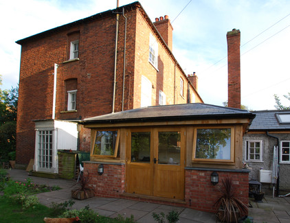 Extension for listed house