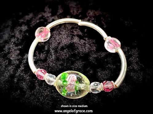 Pink Ribbon Awareness Bracelet