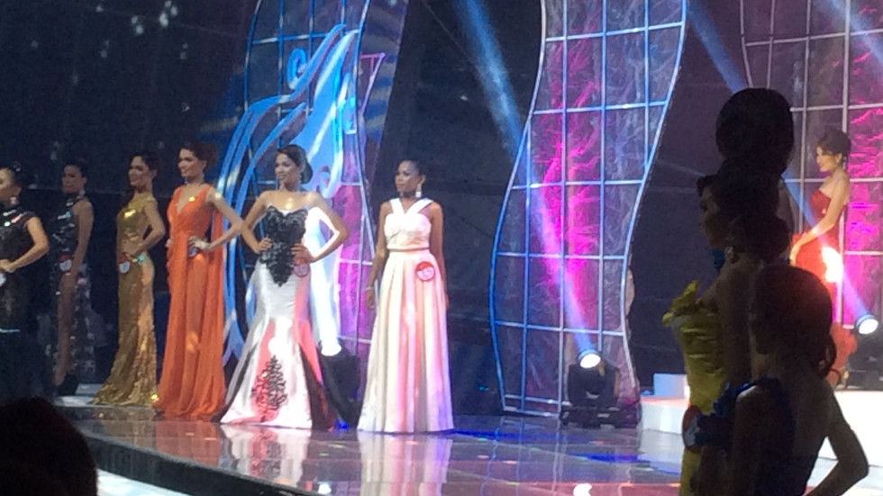 Alyssa ed Guzman Couture worn by one of the candidates of Ms. Taguig.
