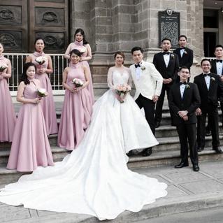 Kate wedding + entourage gown 4
