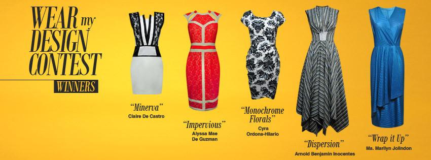 Ensembles Wear My Design Contest Year 3: Top 5 winners