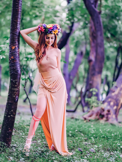 Pia Danielle Padres Forrest Fairy Photoshoot